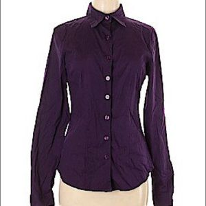 Plus Size/Tall LEL Unopened Purple Blouse